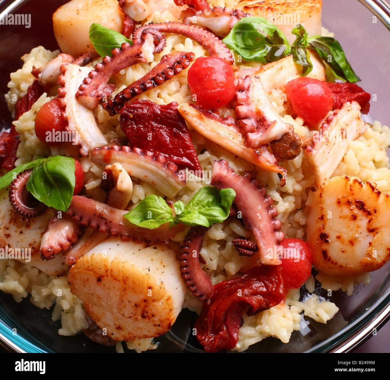 sea food - Stock Image