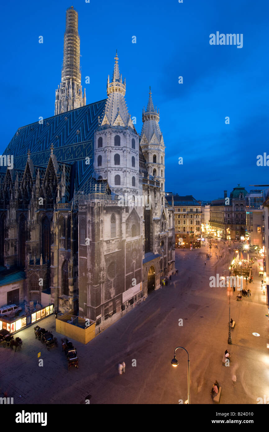 The Ring Vienna S Casual Luxury Hotel Vienna: St Stephens Cathedral, Stephansdom, At Night. Vienna