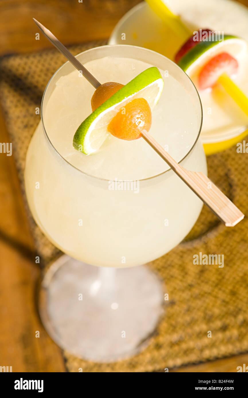 Citrus sour cocktail - Stock Image