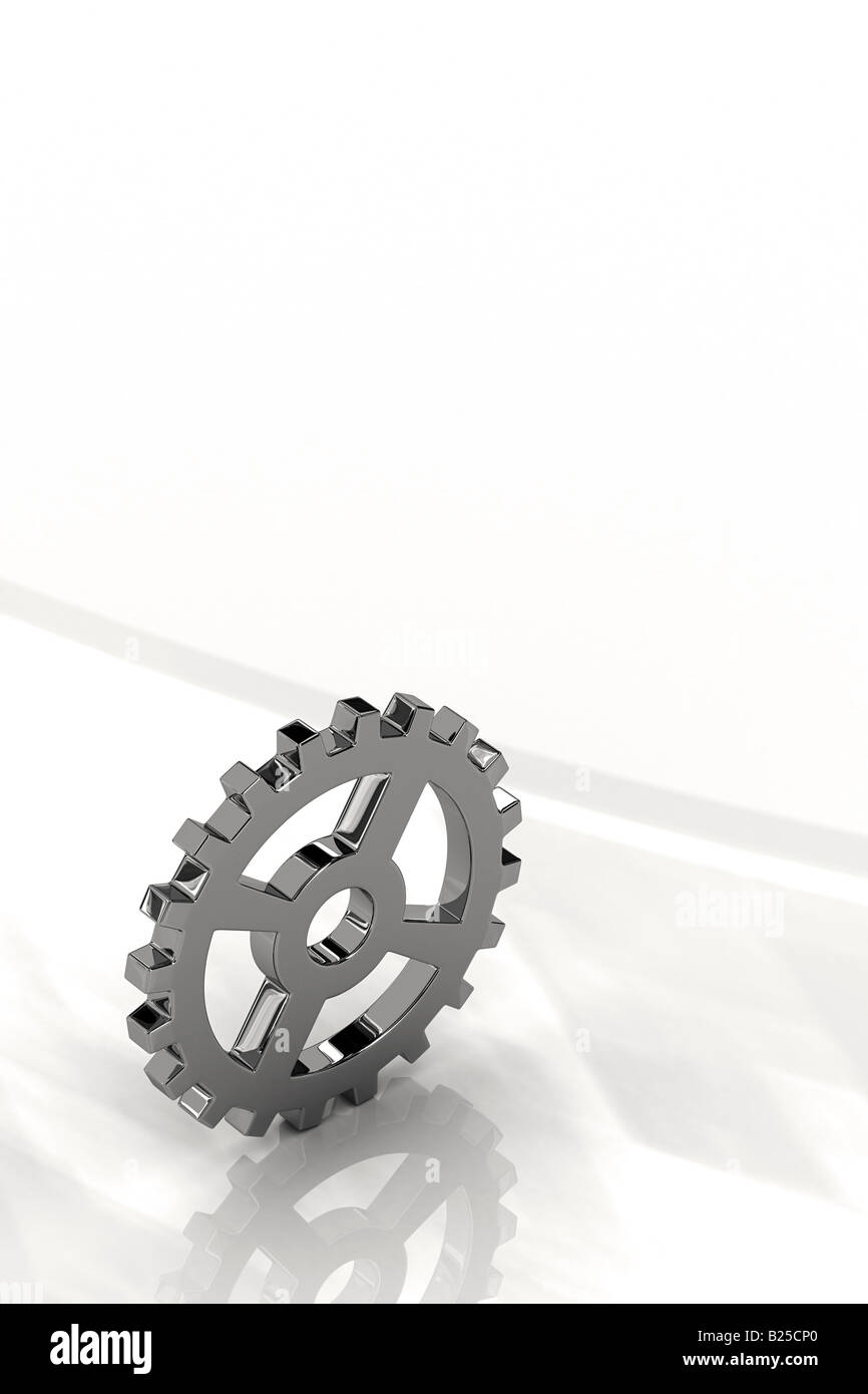 Gear wheel - Stock Image