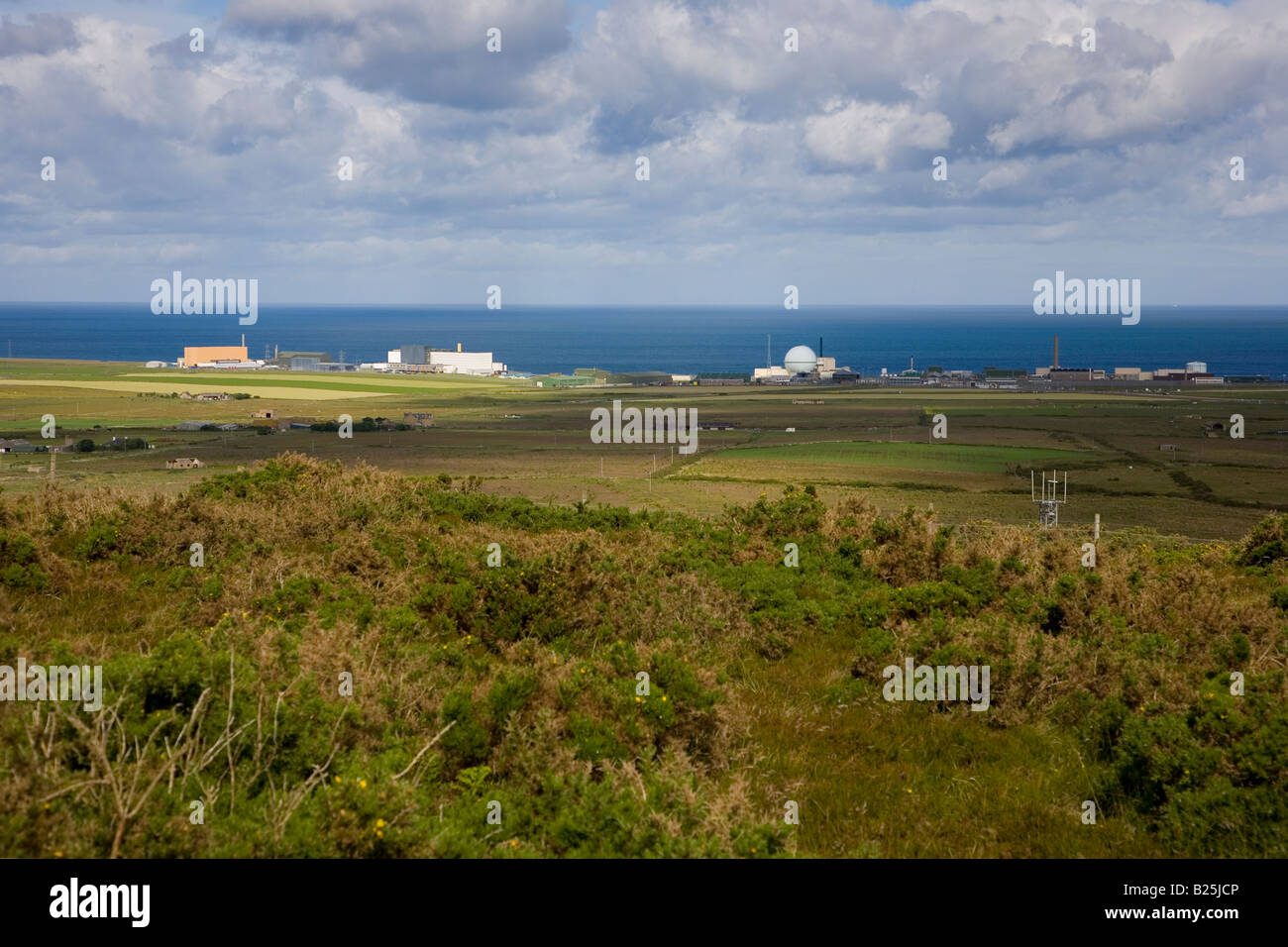 Dounreay Nuclear Power Plant - Stock Image