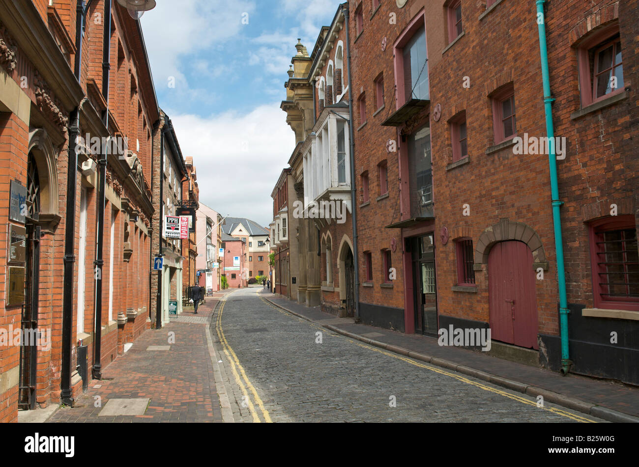 High Street Kingston upon Hull East Yorkshire - Stock Image