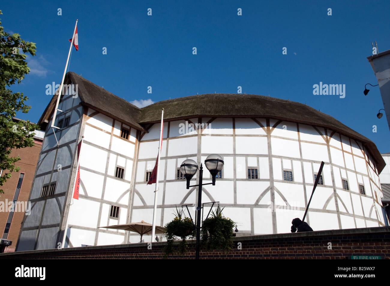 Shakespeare's Globe Theatre, London England UK - Stock Image