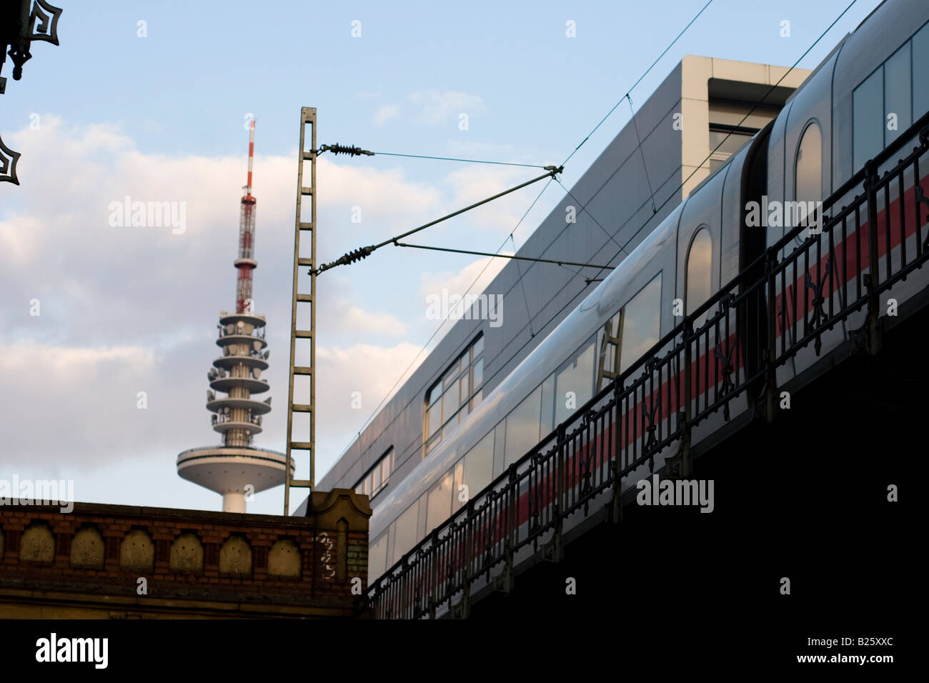 Sternschanze Station in Hamburg, Germany - Stock Image