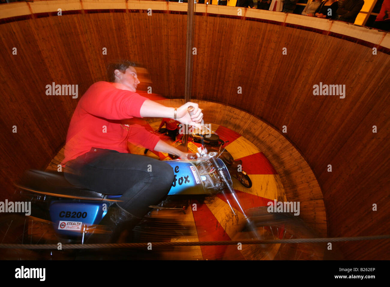 Wall of Death Editorial Use Only - Stock Image