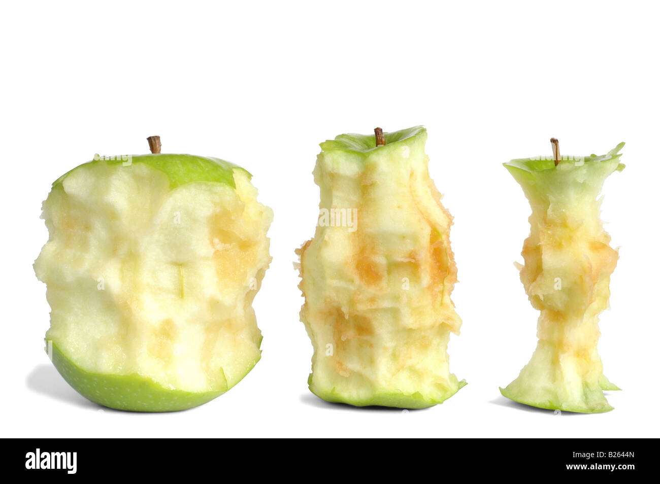 Apple Cores - Stock Image