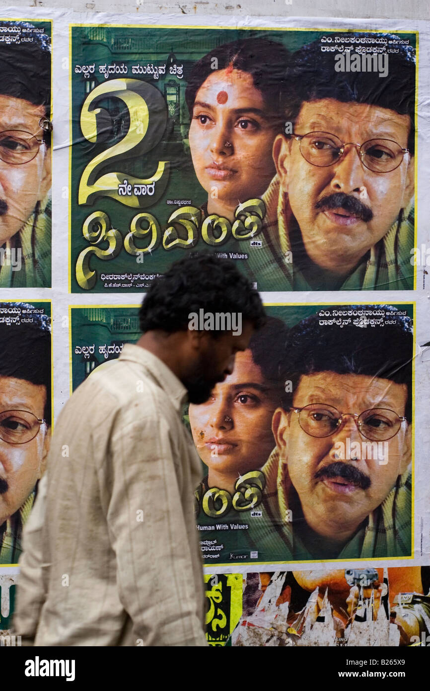 Indian Film Posters Stock Photos & Indian Film Posters Stock