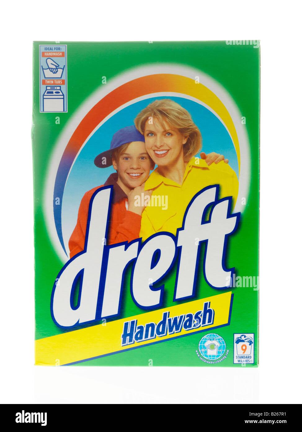 Hand Washing Powder Stock Photo