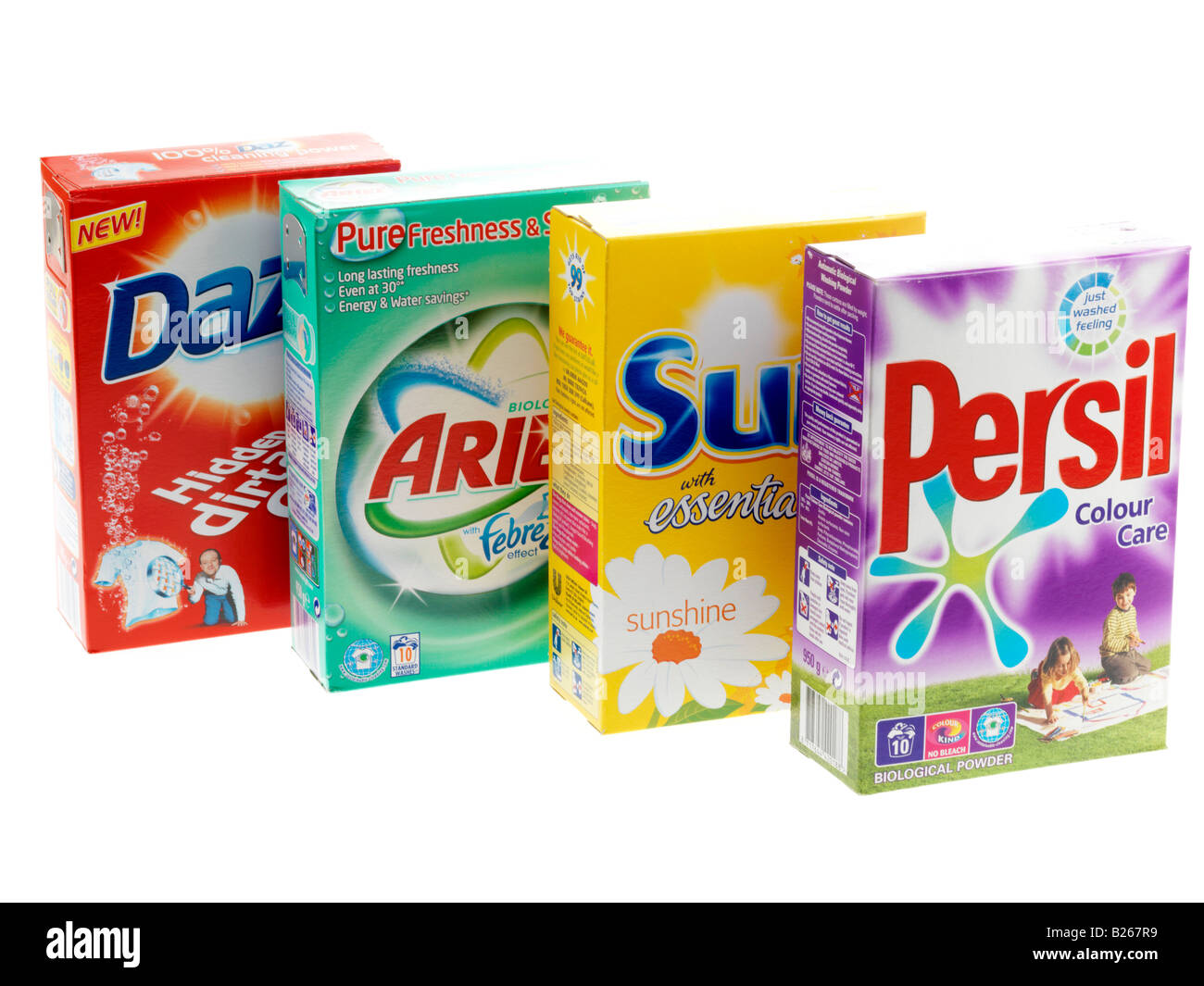 Washing Powders Stock Photo