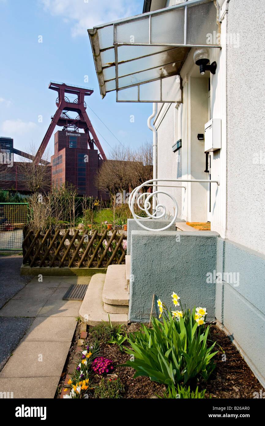 Zollverein Coal Mine Industrial Complex, Essen, North Rhine-Westphalia, Germany - Stock Image