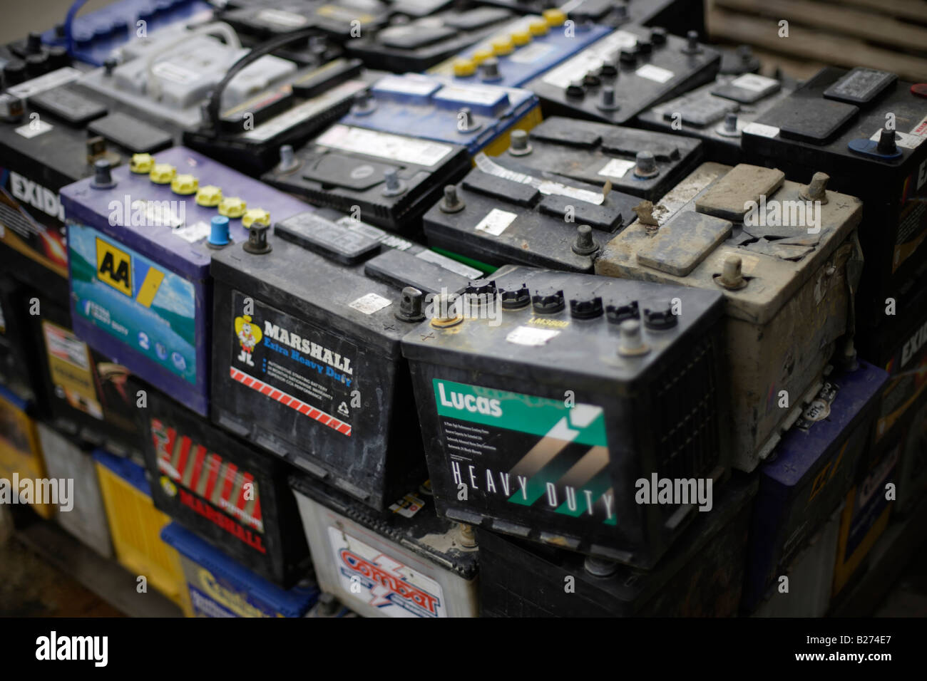 How to Dispose of Car Batteries picture