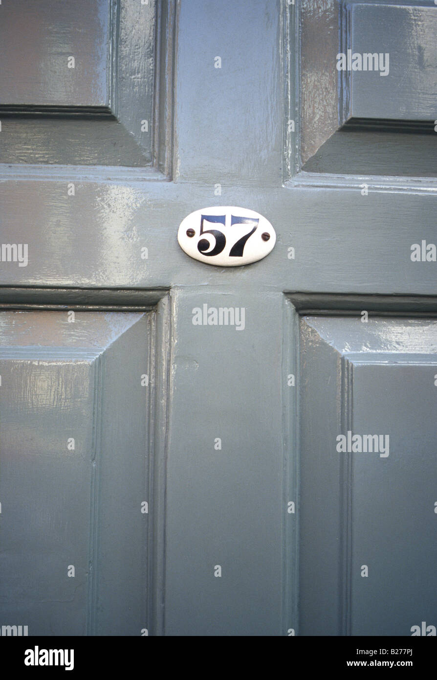 Grey Number Front Door House Stock Photos Amp Grey Number