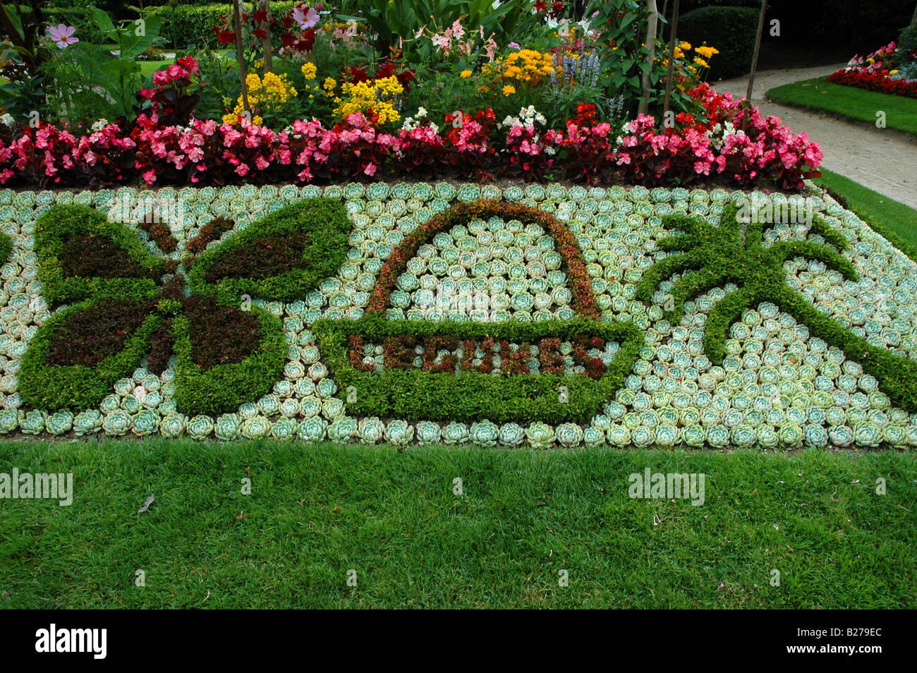 Jardin des plantes de Coutances, Stock Photo