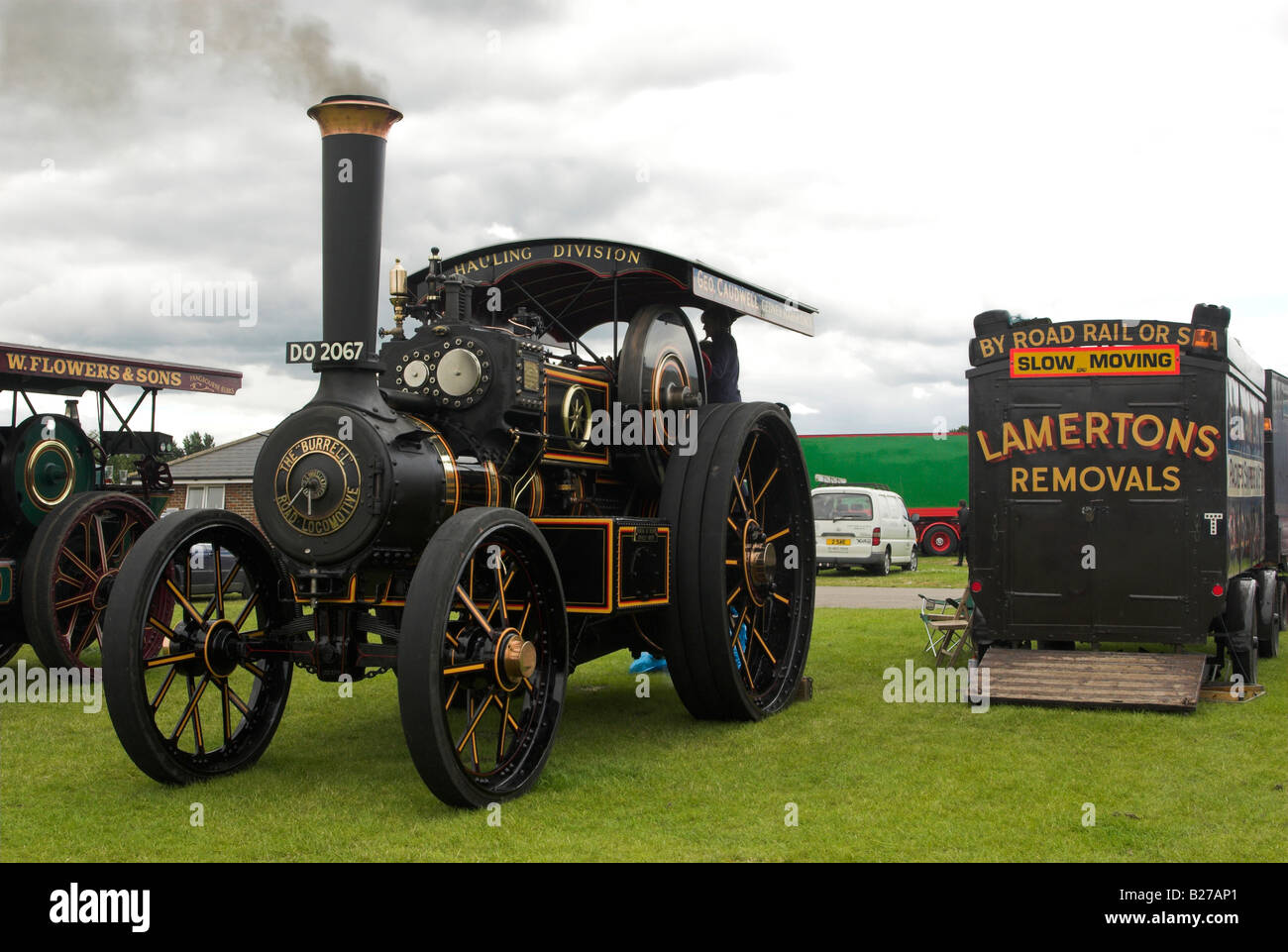 An 8nhp Burrell Road Locomotive named 'The President', Works No. 2789 - Built 1905. - Stock Image
