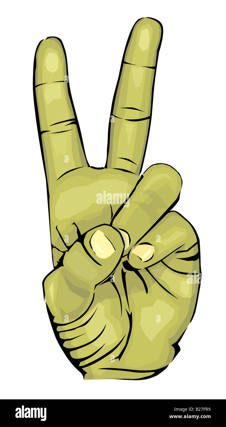 Peace Symbol Cut Out Stock Images & Pictures - Alamy