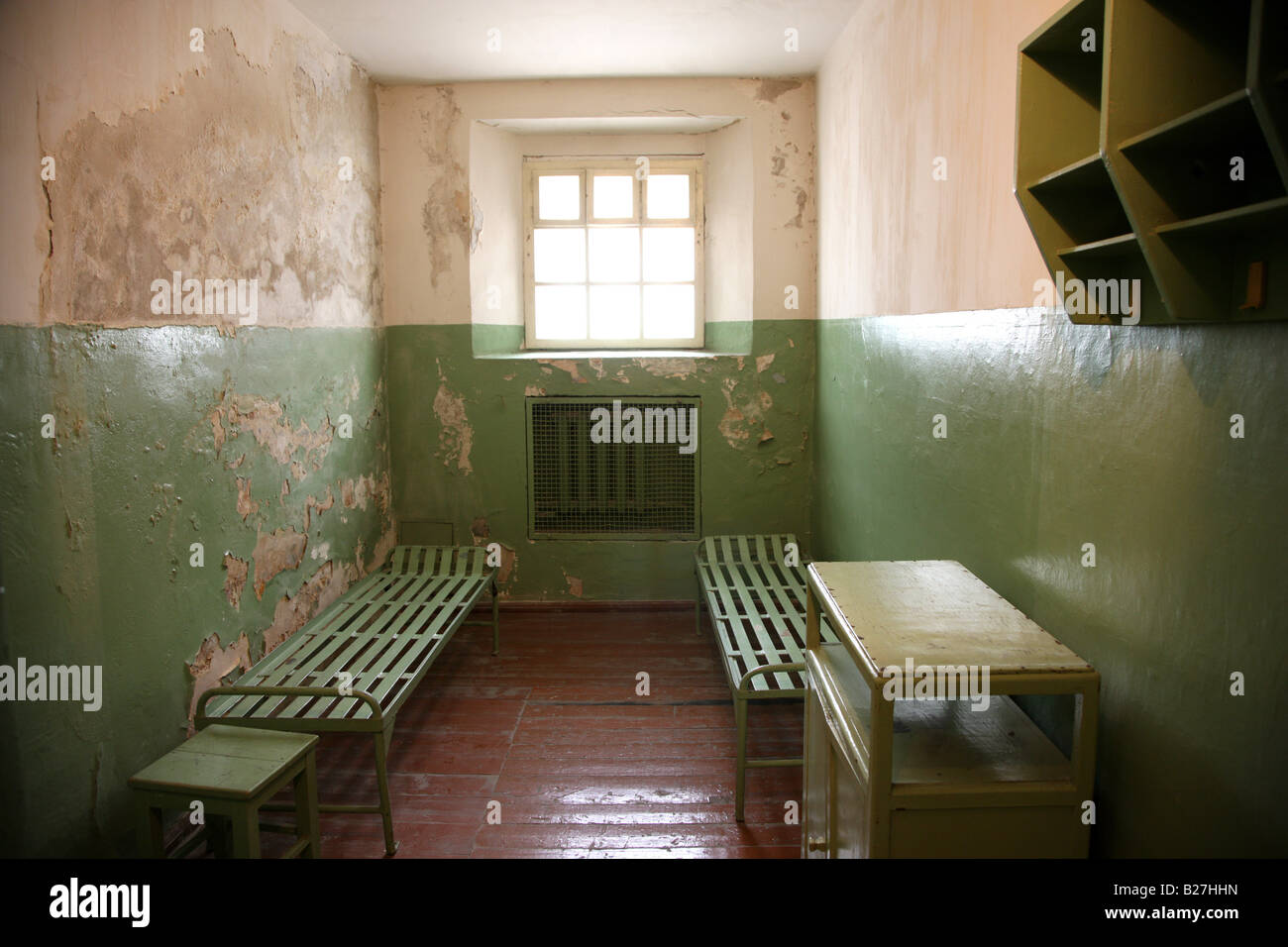 LTU Lithuania Capital Vilnius Museum of Genocide Victims KGB Museum - Stock Image