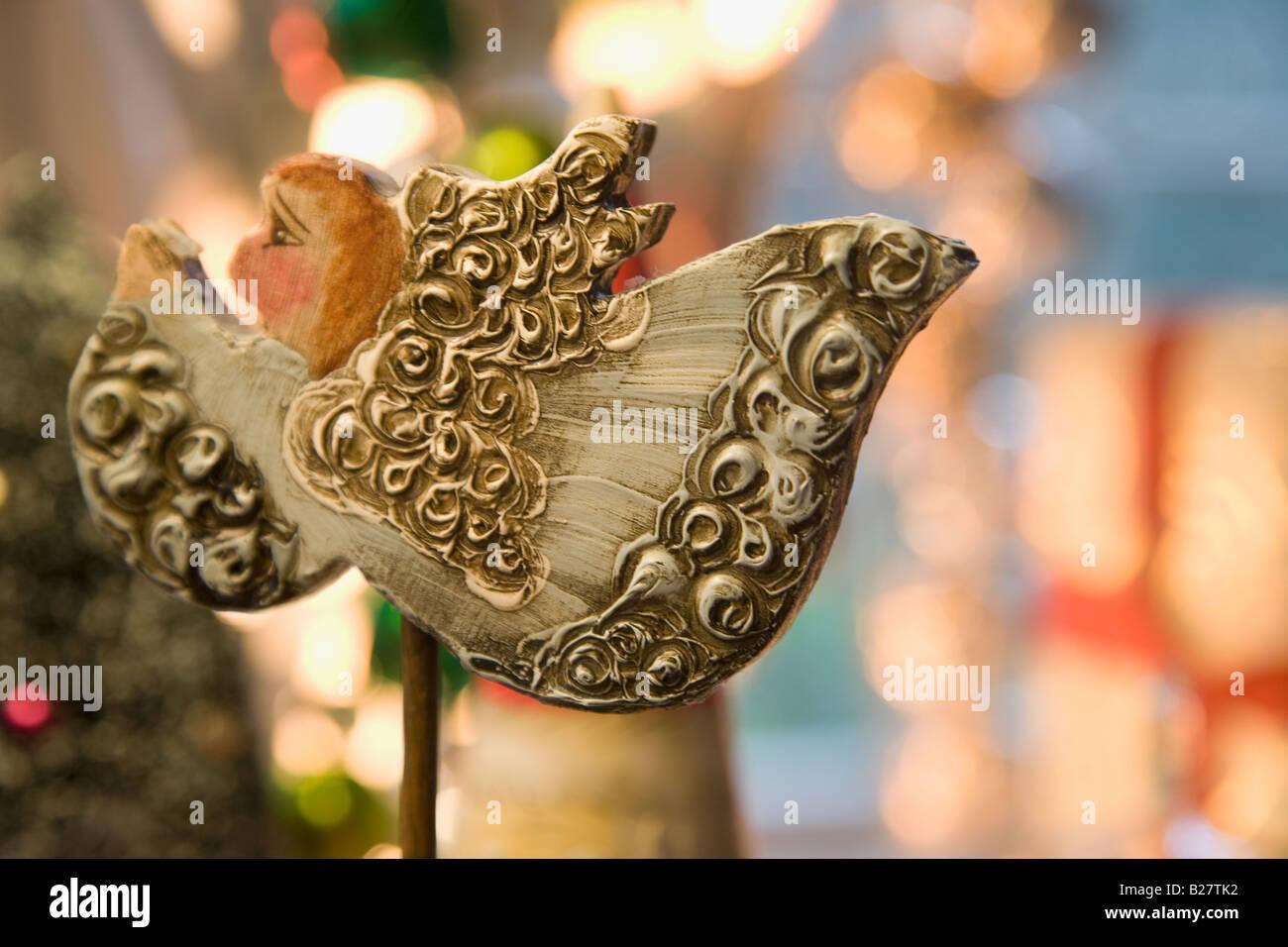 Close up of Christmas decoration - Stock Image