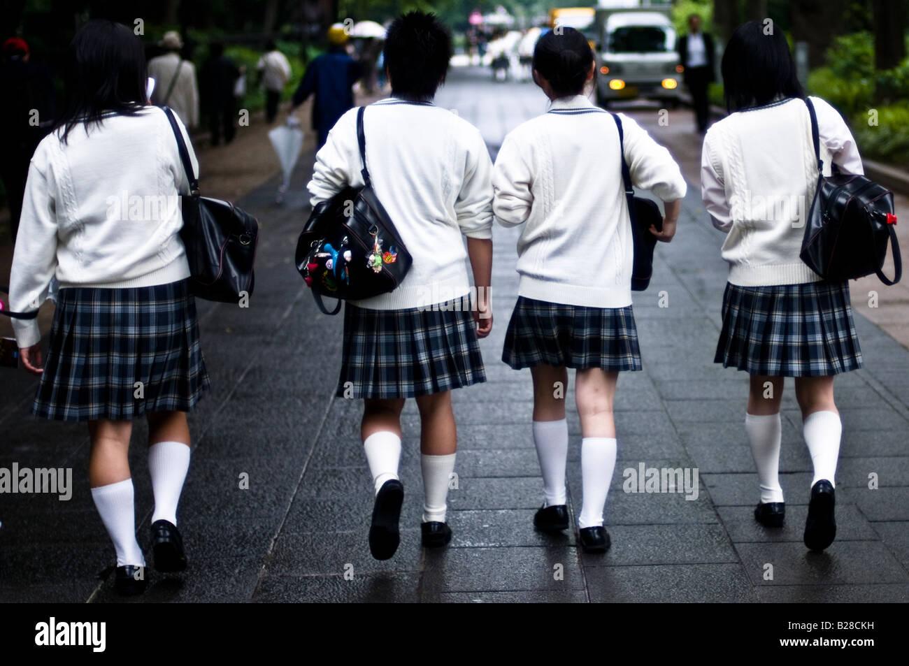 Uniformed Girls Japanese