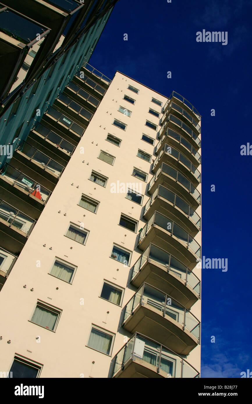 centreway apartments hi-rise block ilford essex england uk gb - Stock Image