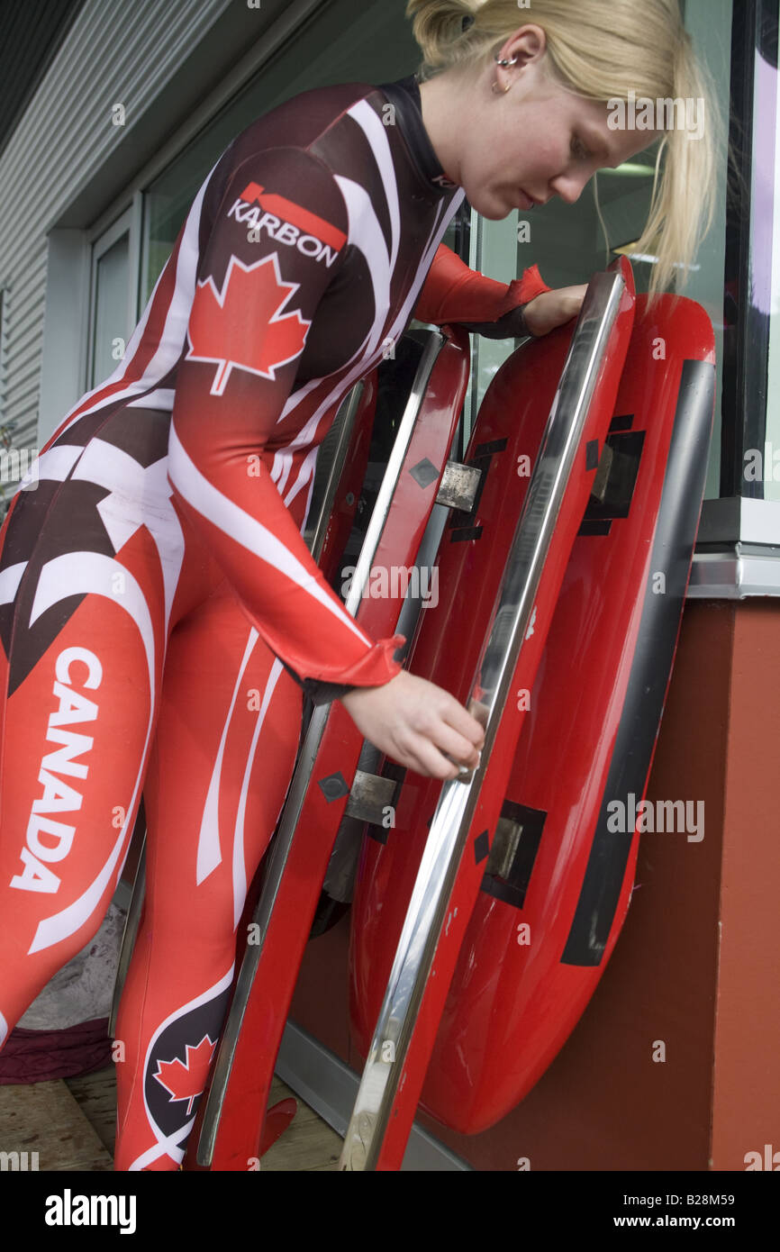 louge at the whistler sleding centre british columbia canada