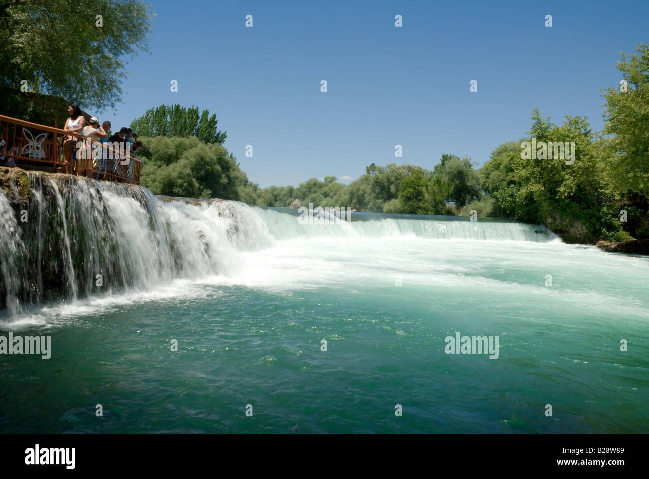 Manavgat Falls, Antalya, Turkey - Stock Image
