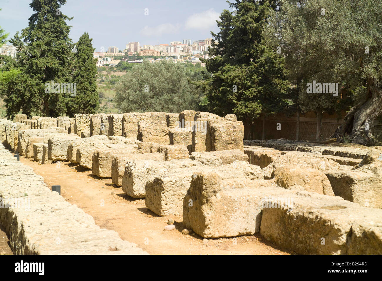 Agrigento Sicily Date 28 05 2008 Ref ZB693 114318 0123 COMPULSORY CREDIT World Pictures Photoshot - Stock Image