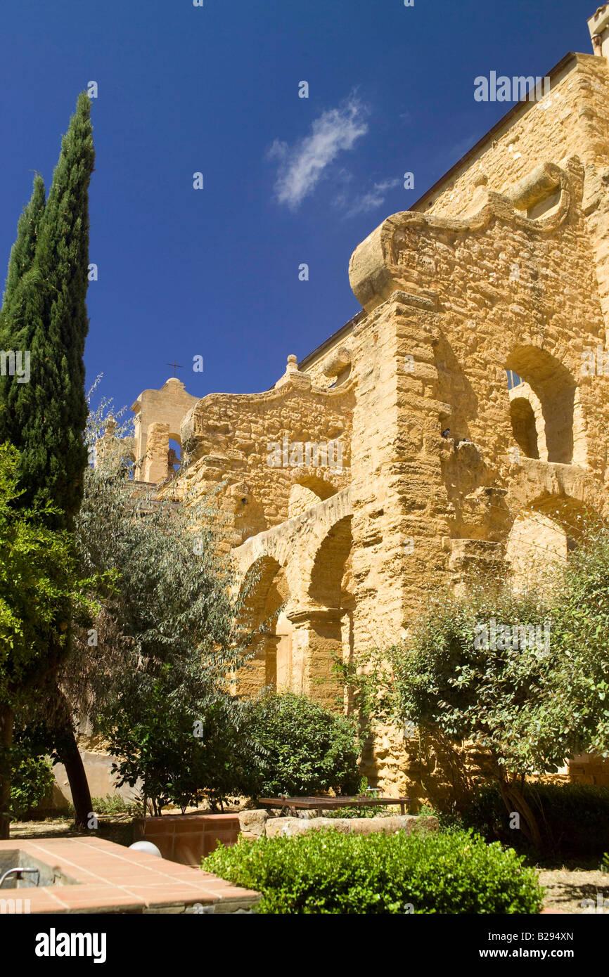 Convento di Santo Spirito Agrigento Sicily - Stock Image