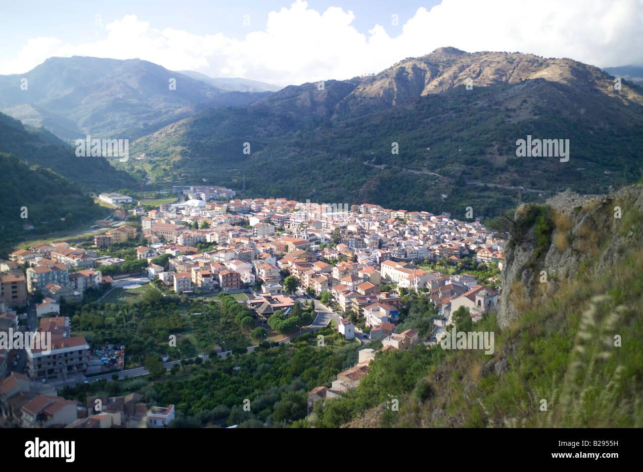Countryside Francavilla Di Sicilia Sicily Stock Photo Alamy