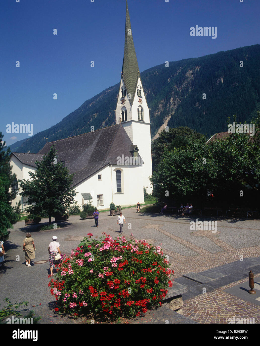 AUSTRIA Tirol Mayrhofen The Church Date 10 06 2008 Ref ZB704 114941 0001 COMPULSORY CREDIT World Pictures Photoshot - Stock Image