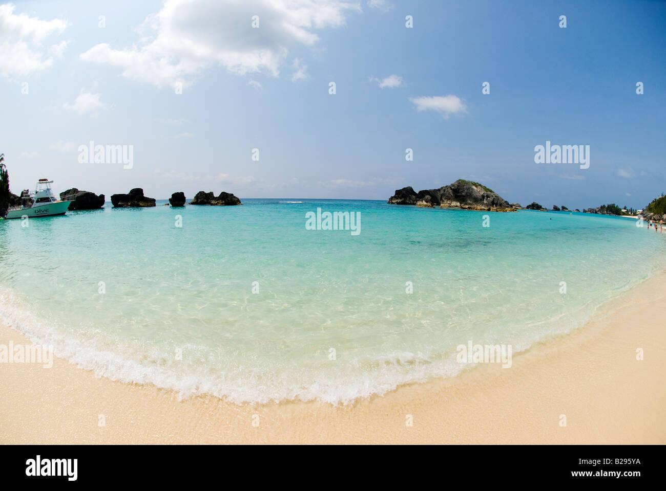 The Fairmont Southampton Beach Southampton Parish Bermuda - Stock Image