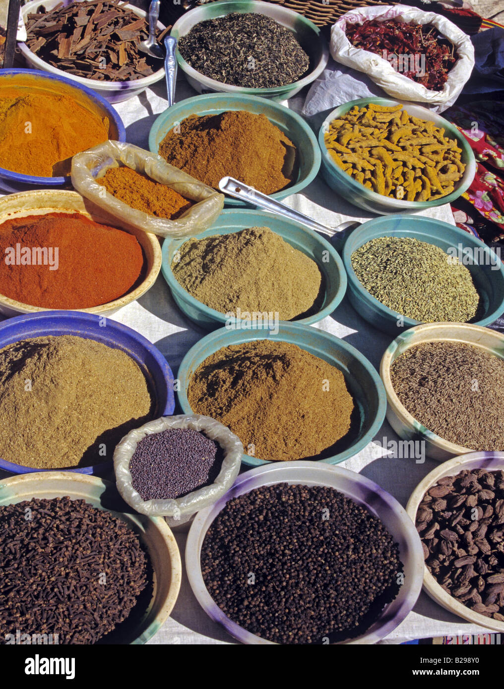 Anjuna Market Goa State India Date 15 06 2008 Ref ZB548 115573 0014 COMPULSORY CREDIT World Pictures Photoshot - Stock Image