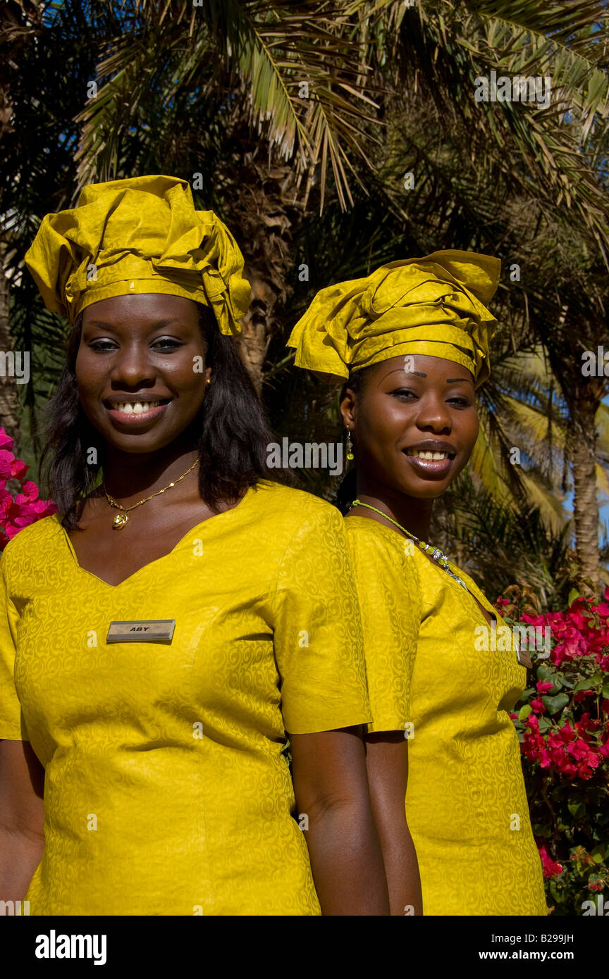 Hotel guest relations girls Date 20 02 2008 Ref ZB583 110492 0030 COMPULSORY CREDIT World Pictures Photoshot - Stock Image