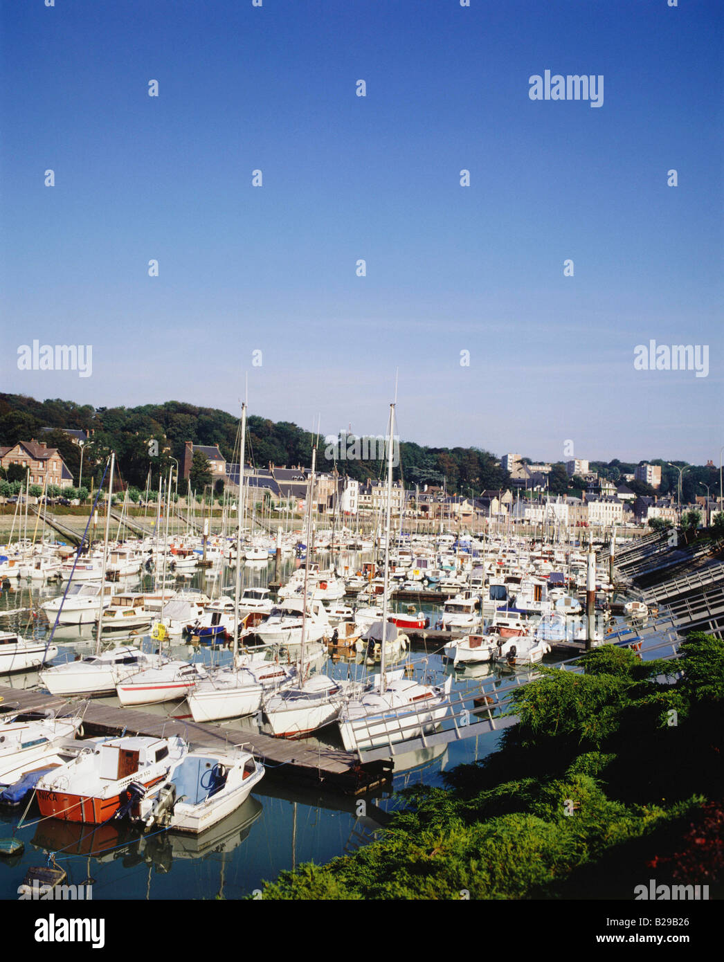 FRANCE Normandy St Valery En Caux Date 10 06 2008 Ref ZB616 114871 0007 COMPULSORY CREDIT World Pictures Photoshot - Stock Image
