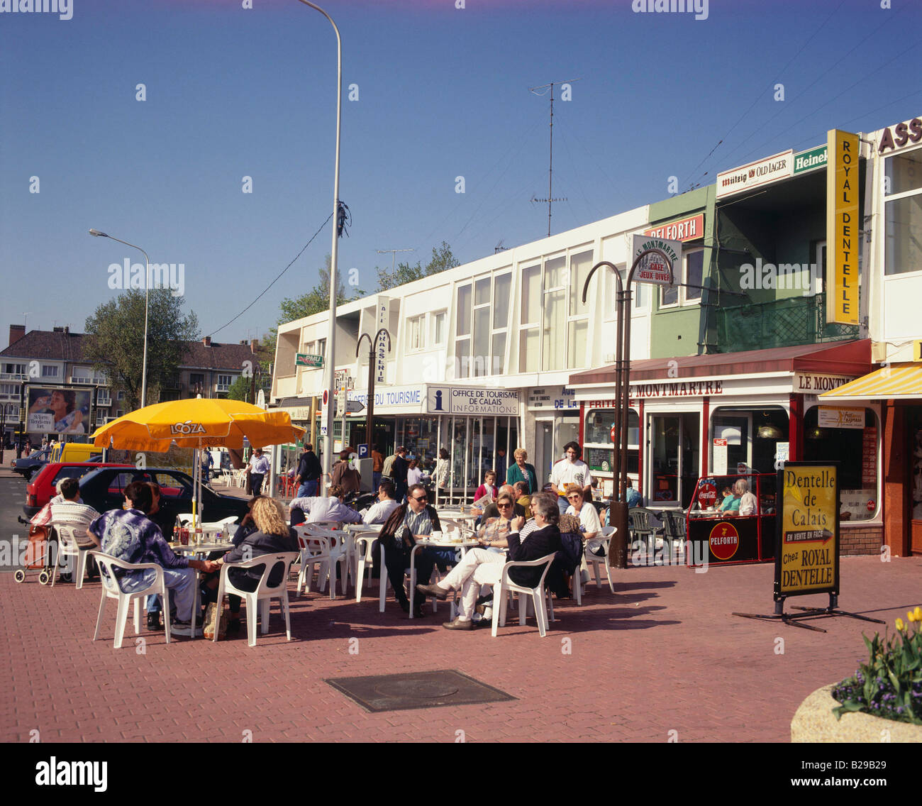 FRANCE Picardy Calais cafe Date 10 06 2008 Ref ZB616 114871 0008 COMPULSORY CREDIT World Pictures Photoshot Stock Photo