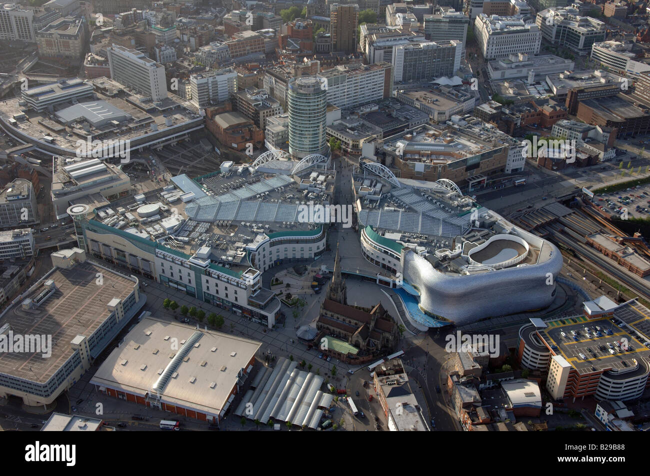 Birmingham Centre Date 12 03 2008 Ref ZB648 111149 0006 COMPULSORY CREDIT World Pictures Photoshot - Stock Image