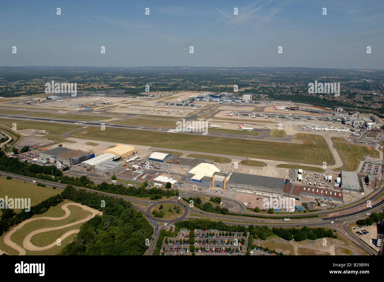 Gatwick Airport Date 12 03 2008 Ref ZB648 111149 0023 COMPULSORY CREDIT World Pictures Photoshot - Stock Image
