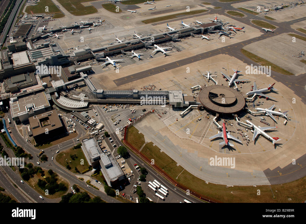Gatwick Airport Date 12 03 2008 Ref ZB648 111149 0024 COMPULSORY CREDIT World Pictures Photoshot Stock Photo