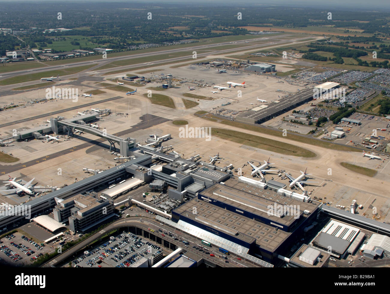 Gatwick Airport Date 12 03 2008 Ref ZB648 111149 0026 COMPULSORY CREDIT World Pictures Photoshot - Stock Image