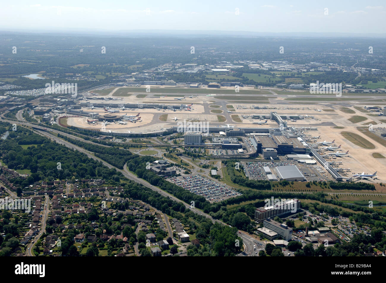 Gatwick Airport Date 12 03 2008 Ref ZB648 111149 0027 COMPULSORY CREDIT World Pictures Photoshot - Stock Image
