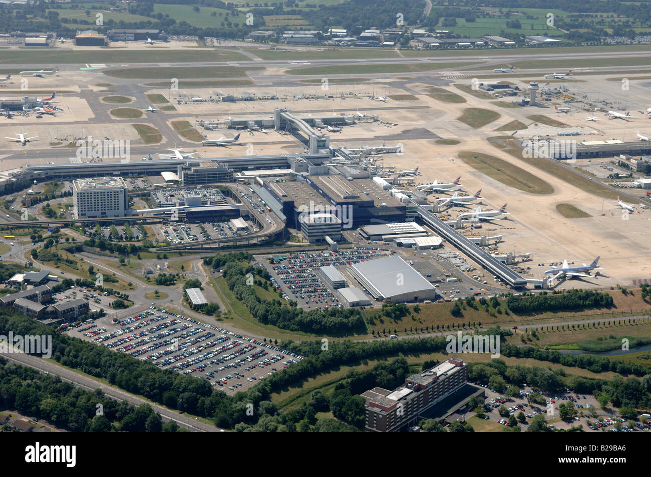 Gatwick Airport Date 12 03 2008 Ref ZB648 111149 0028 COMPULSORY CREDIT World Pictures Photoshot - Stock Image