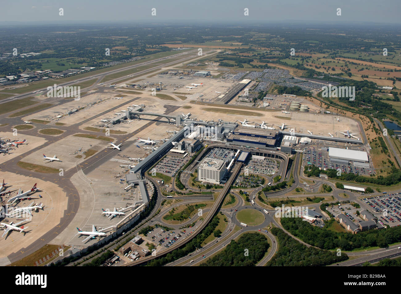 Gatwick Airport Date 12 03 2008 Ref ZB648 111149 0030 COMPULSORY CREDIT World Pictures Photoshot Stock Photo