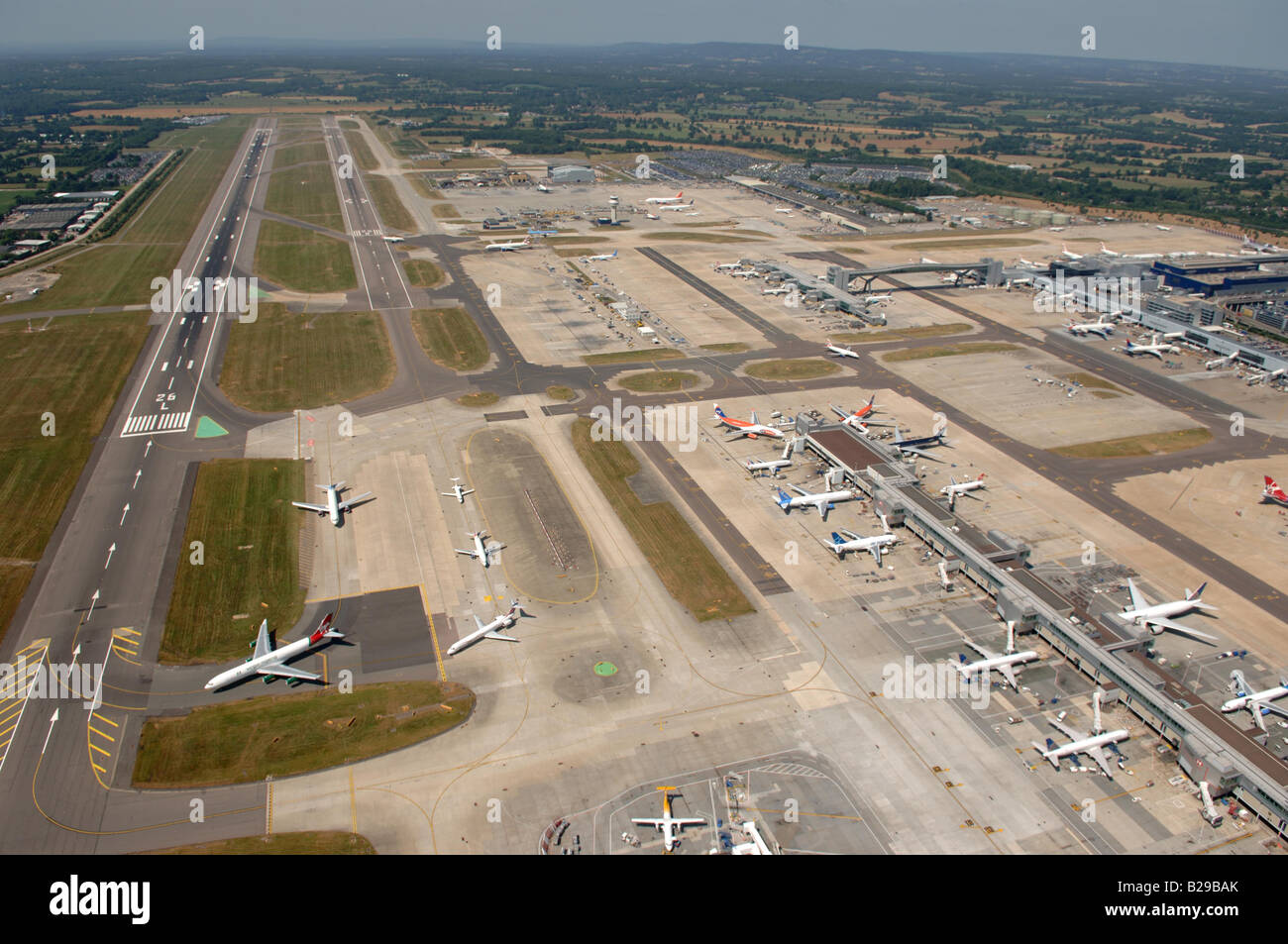 Gatwick Airport Date 12 03 2008 Ref ZB648 111149 0034 COMPULSORY CREDIT World Pictures Photoshot - Stock Image