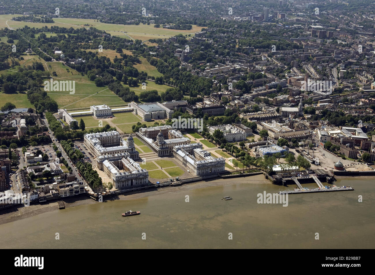 Greenwich Maritime Date 12 03 2008 Ref ZB648 111149 0040 COMPULSORY CREDIT World Pictures Photoshot - Stock Image