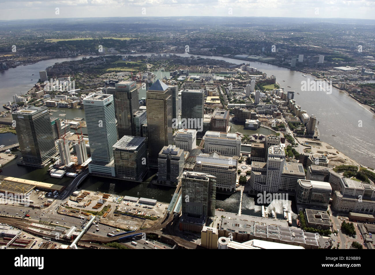 Isle of Dogs London Date 12 03 2008 Ref ZB648 111149 0041 COMPULSORY CREDIT World Pictures Photoshot - Stock Image