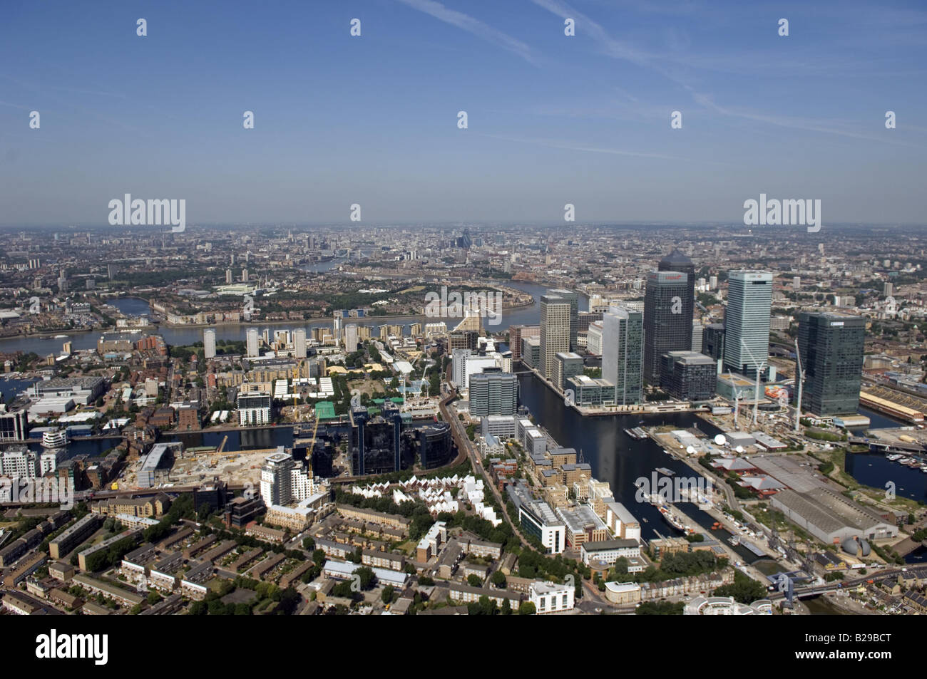The Isle of Dogs Date 12 03 2008 Ref ZB648 111149 0057 COMPULSORY CREDIT World Pictures Photoshot - Stock Image