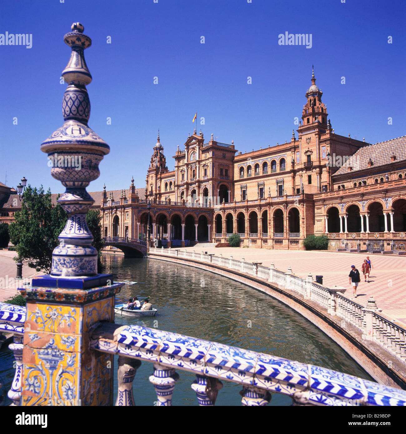 SPAIN SEVILLE Plaza de Espana Date 10 06 2008 Ref ZB648 114982 0001 COMPULSORY CREDIT World Pictures Photoshot - Stock Image