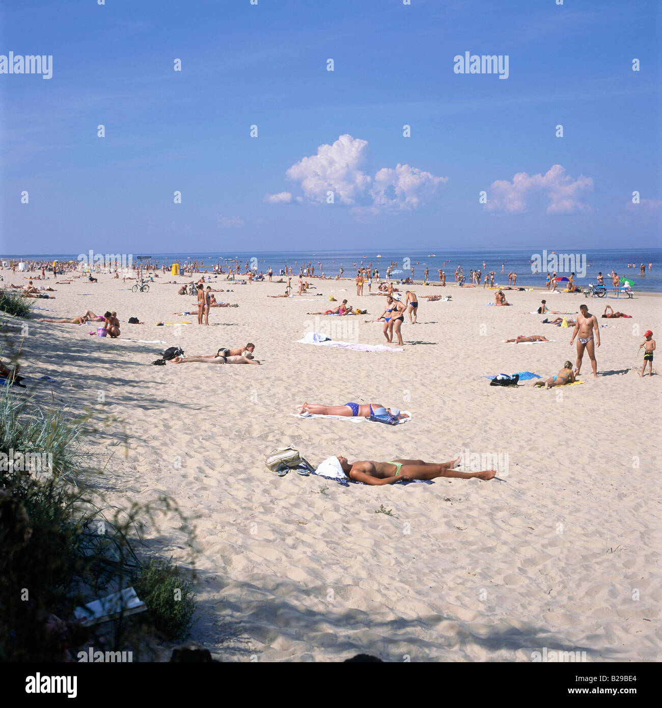 LATVIA Jurmarla beach Date 10 06 2008 Ref ZB648 114982 0005 COMPULSORY CREDIT World Pictures Photoshot - Stock Image