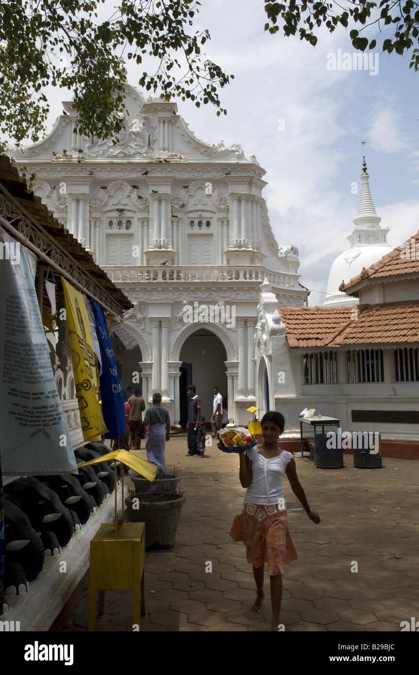 Galapota Temple Bentota Sri Lanka Date 20 04 2008 Ref ZB648 115261 0051 COMPULSORY CREDIT World Pictures Photoshot - Stock Image