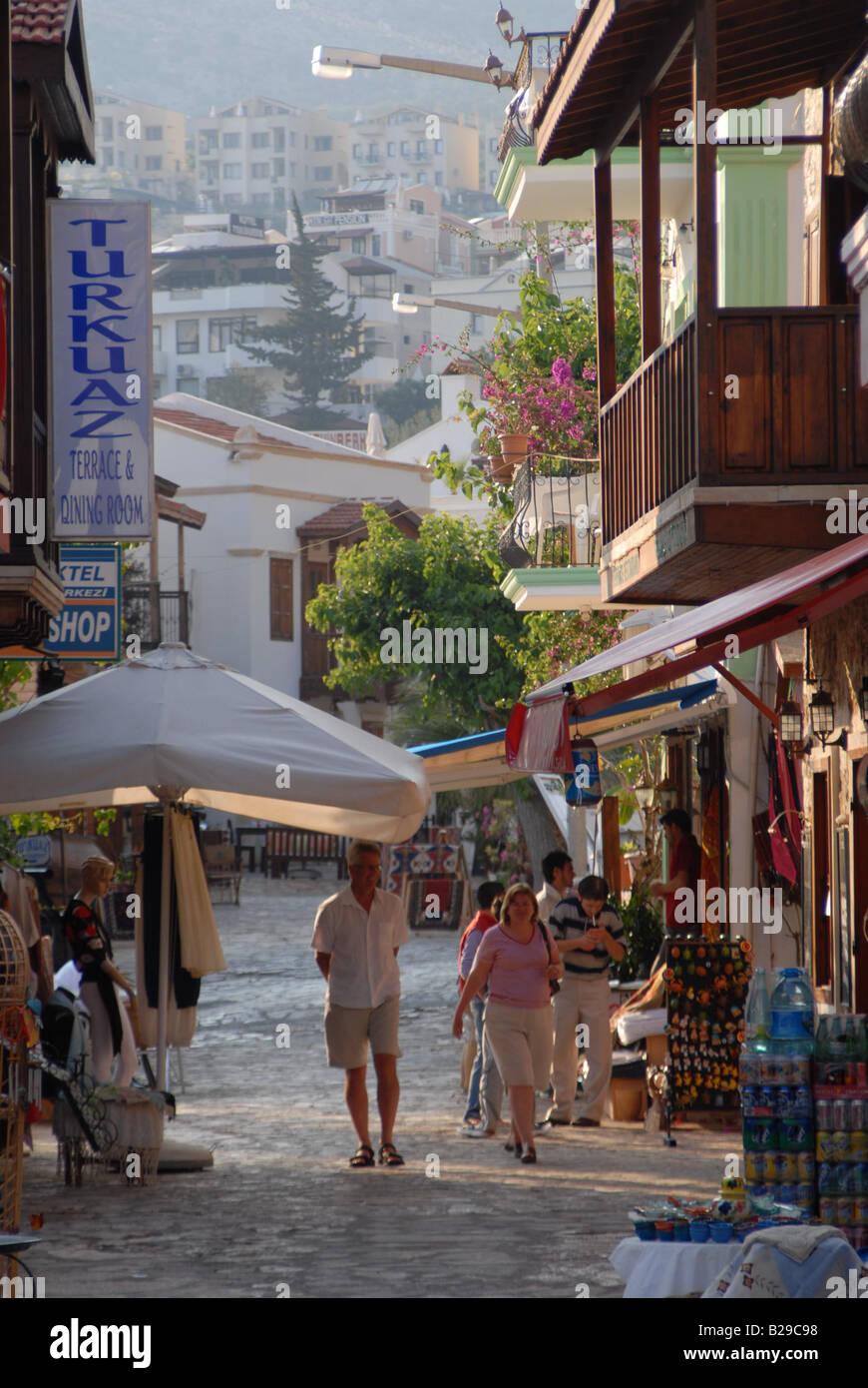 Kalkan Turkey Ref ZB689 112131 0094 COMPULSORY CREDIT World Pictures Photoshot - Stock Image