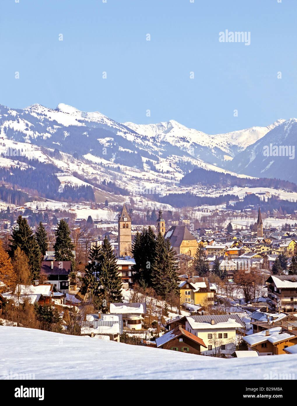 Kitzbuhel Tirol Austria Ref WP STRANGE 3624 COMPULSORY CREDIT World Pictures Photoshot - Stock Image